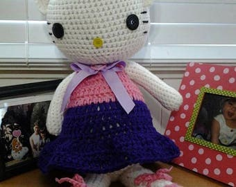 crochet hello kitty doll