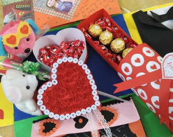 large explosion box for valentine special