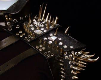 Leather Shoulder Piece