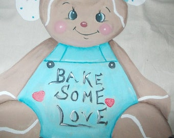GINGERBREAD DOLL Cook