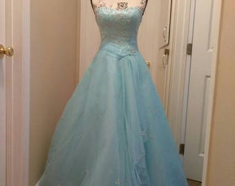 Size 2 Beaded Ballgown