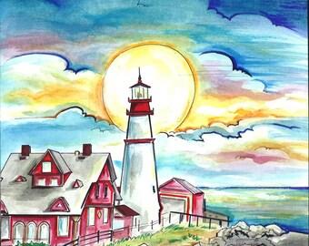 The Head Light Lighthouse!