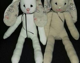 Sock Bunnies by Munchkins