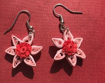 Cherry Blossom Pearl Earrings