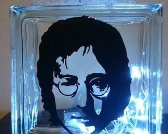 John Lennon Glass Light Block