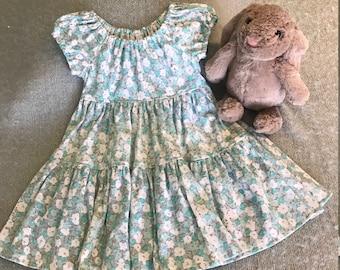 Toddler Girls Prairie Dress Size 2