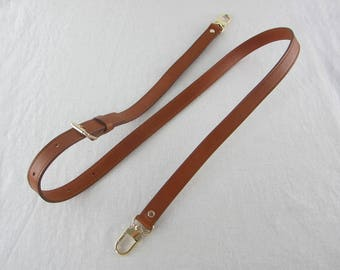 Brown Leather Purse Straps