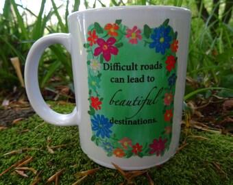 Beautiful Destinations Mug Hand Made Original Design