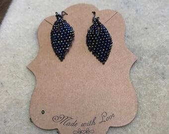 Russian leaf earrings
