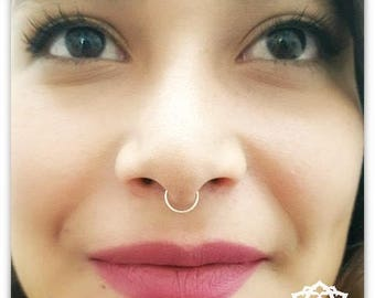 handmade in.925 Silver nose-ring