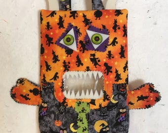 Adorable Monster Trick or Treat Bags