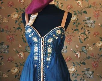 vintage strap top