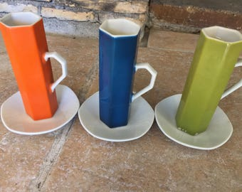great VINTAGE ceramic cups