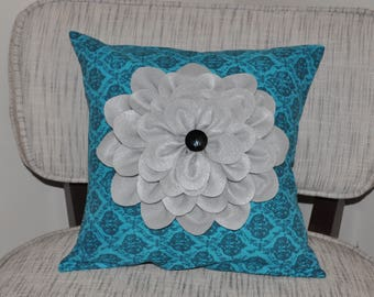 Home decor decorative flower pillow