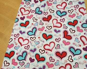 Nursing cover hearts