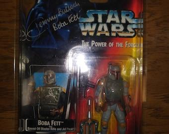 Boba Fett Autographed