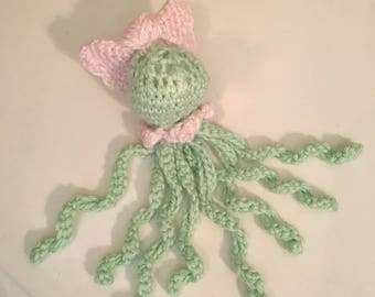 Cute stuffed octopus