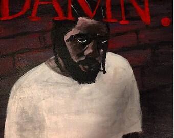 Kendrick Lamar Album Cover 'Damn'