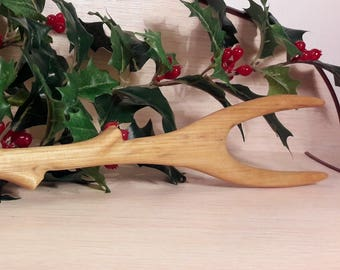 Handcrafted Fork from Birch Tree