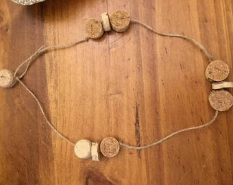 necklaces, recycler, Cork, rope