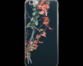 Dark Floral iPhone Case
