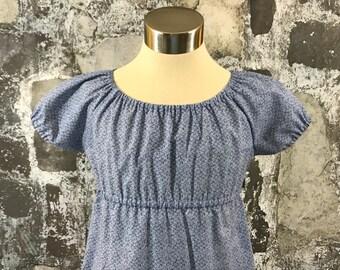 Size 7--Meghan's Peasant Dress