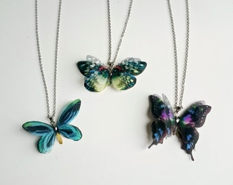 Single Butterfly Pendant of your choice