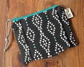 Card Cash Mini Wallet - Black Nomad - Made to Order