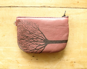 Tree Wallet Recycled Leather