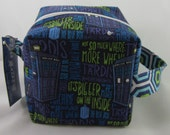 Tardis Words Sock Box