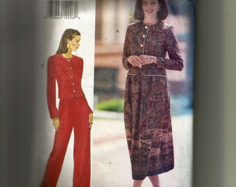 Butterick Misses' /Misses' Petite Top, Skirt and Pants Pattern 3622