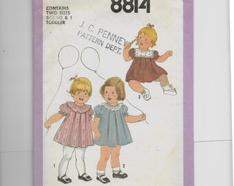 Simplicity Toddlers' Dress  Pattern 8814