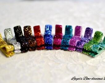 Clips Glitter Hair Clips, no-slip clips, toddler girl hair clips, baby girl clips, international shipping