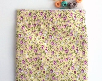 Reusable Snack Bag, Sandwich Bag, Summer Floral, Zero Waste lunch, for her under 10 dollars