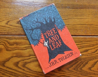 Tree and Leaf by J. R. R. Tolkien, First American Edition with Dust jacket art by Robert Quackenbush, Boston: Houghton Mifflin Company, 1965