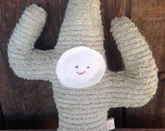 Cactus Doll Saguaro Cactus Waldorf Toy Eco Kids Toy Plush Nature