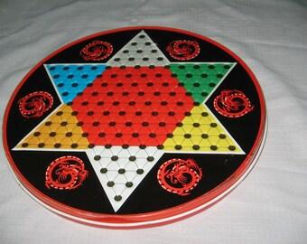 Ohio Art metal Chinese Checkers board