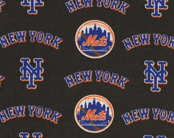 MadieBs Custom New York Mets Toddler Bed or  Crib Sheet set 3 piece personalized