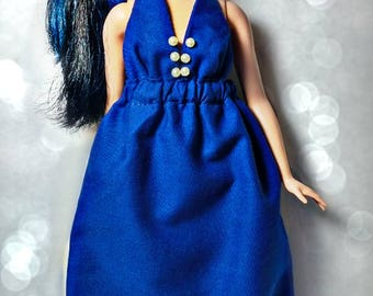 Barbie Long Dress - ONE SIZE fits ALL - Curvy, Tall, Modern, Vintage, Silkstone