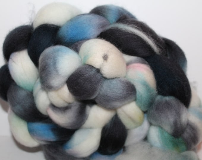 Kette Dyed Polwarth wool top. Roving. Spin. Felt. Super Soft. 4oz FREE SHIP #P23