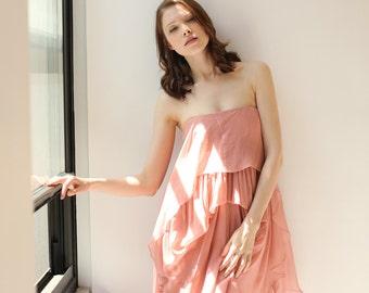 Sale- dusty rose pink dress