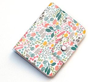 Vinyl Passport Case - Flora Fields / flower, vegan, passport, vinyl, gift, woman's, wallet, case, summer, wanderlust, travel, traveller