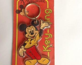 Vintage Disney Mickey Mouse Keychain