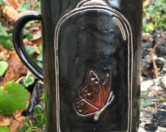 Butterfly in the Bell Jar Mug
