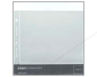 Page protectors etsy for American crafts page protectors 8x8
