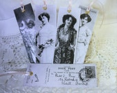 Book Marker  Laminated - Vintage Actresses - Black & White