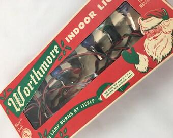 Worthmore Vintage Christmas Lights Bulbs