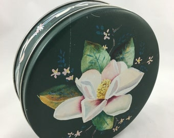 Vintage Dogwood Blossom Candy Tin