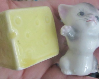 mice and cheese salt and pepper shakers