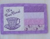 Custom Order For Sharon for One Set Of 5 Tea Time Snack Mats